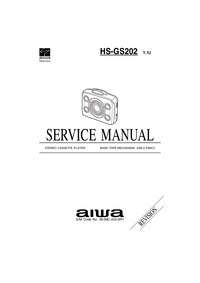Manual de servicio Aiwa HS-GS202 YJ