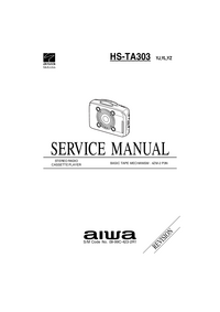 Manual de serviço Aiwa HS-TA303 YJ
