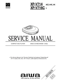 Manual de servicio Aiwa XP-V716C Y