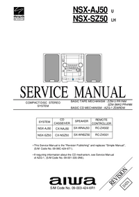 Service Manual Aiwa NSX-SZ50