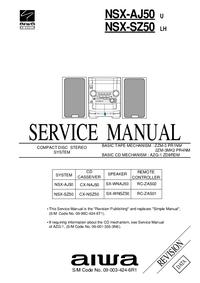 Servicehandboek Aiwa NSX-SZ50