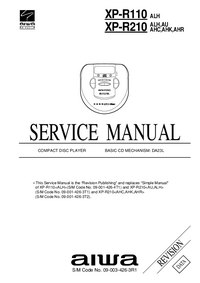 Service Manual Aiwa XP-R210