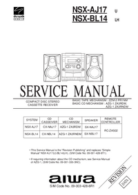 Service Manual Aiwa NSX-BL14