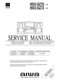 Service Manual Aiwa NSX-SZ73
