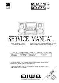 Servicehandboek Aiwa NSX-SZ73