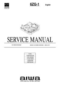 Instrukcja serwisowa Aiwa 6ZG-1 VOS1NDSM