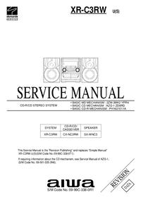 Service Manual Aiwa XR-C3RW