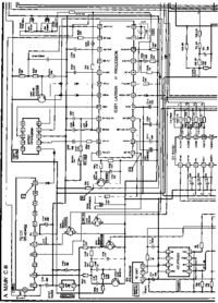 Cirquit Diagram Aiwa TV-A205