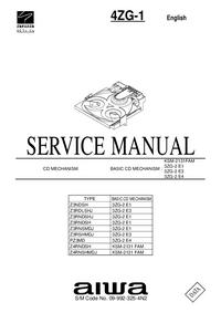 Serviceanleitung Aiwa KSM-2131FAM
