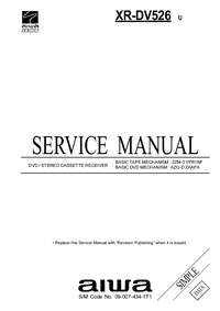 Service Manual Aiwa XR-DV526