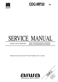 Service Manual Aiwa CDC-MP32