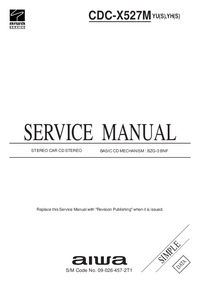 Manual de servicio Aiwa CDC-X527M
