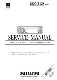 Service Manual Aiwa CDC-Z127