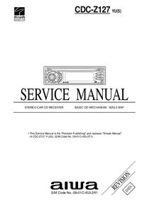 Manuale di servizio Aiwa CDC-Z127