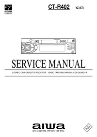 Manual de servicio Aiwa CT-R402