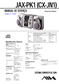 Service Manual Aiwa JAX-PK1 (CX-JN1)