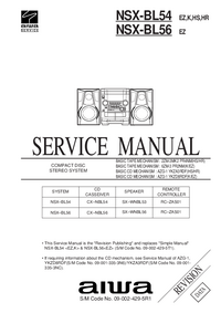 Service Manual Aiwa NSX-BL56