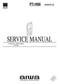Manual de serviço Aiwa PT-H66
