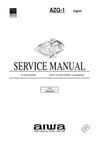 Service Manual Aiwa AZG-1