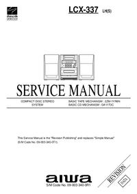 Servicehandboek Aiwa LCX-337 LH(S)