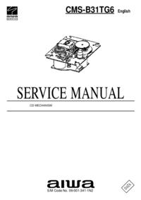 manuel de réparation Aiwa CMS-B31TG6