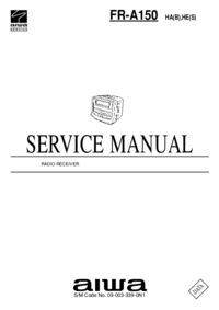 Manual de servicio Aiwa FR-A150 HA(B)