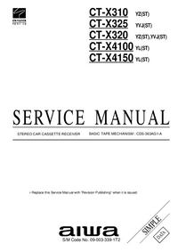 Manual de servicio Aiwa CT-X4100 YL(ST)