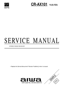 Manual de servicio Aiwa CR-AX101 YZ(S)