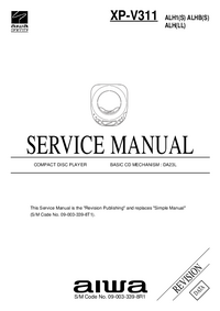 Manual de servicio Aiwa XP-V311 ALH(LL)