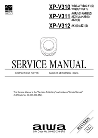 Manual de servicio Aiwa XP-V311 AHAB(S)