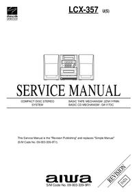 Servicehandboek Aiwa LCX-357 U(S)