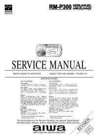 Руководство по техническому обслуживанию Aiwa RM-P300 AEZ(S)
