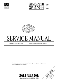 Manual de servicio Aiwa XP-SP911 AUB