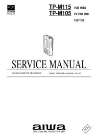 Service Manual Aiwa TP-M105 YHB