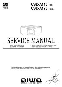 Manual de servicio Aiwa CSD-A110 U(S)