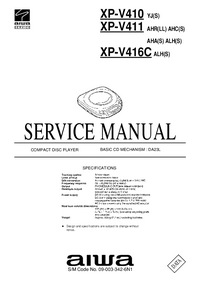 Service Manual Aiwa XP-V411 ALH(S)
