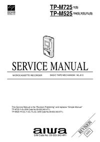 Service Manual Aiwa TP-M525 YL(S)