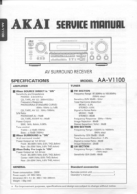 Akai-3882-Manual-Page-1-Picture