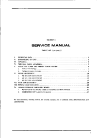 Manual de servicio Akai AA 1010