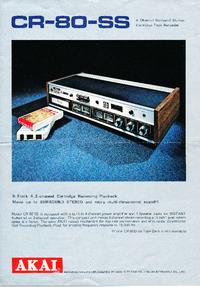 Catalogus Akai CR-80-SS