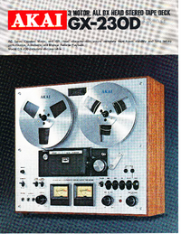 Catalogue Akai GX-230D