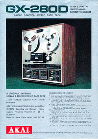 Katalog Akai GX-280D