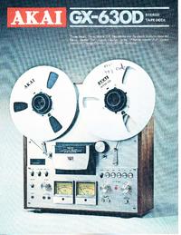 Katalog Akai GX-630D