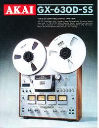 Catálogo Akai GX-630D-SS
