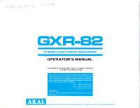 Bedienungsanleitung Akai GXR-82