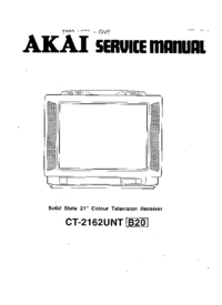 Cirquit Diagramma Akai CT-2162