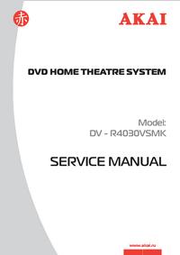 Service Manual Akai DV - R4030VSMK