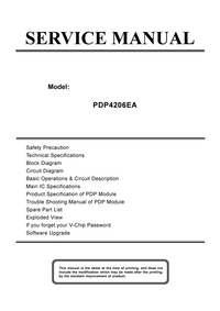 Service Manual Akai PDP4206EA