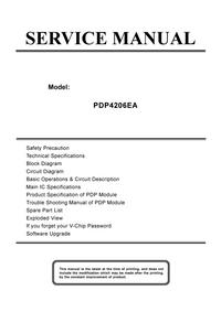 Servicehandboek Akai PDP4206EA