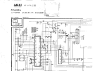 Cirquit Diagram Akai Atlanta AT-2020